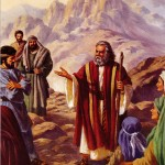 Moses Teaches the People